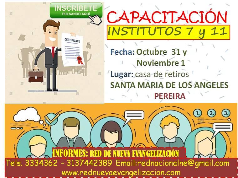 invitación institutos en Pereira